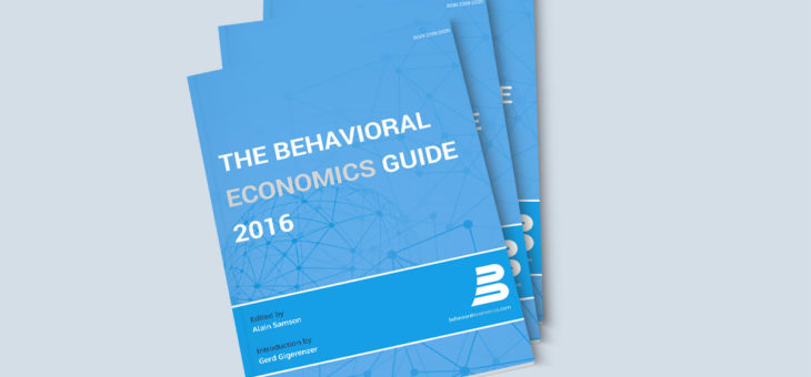 "Kostenloses E-Book: ""Behavioral Economics Guide 2016"""