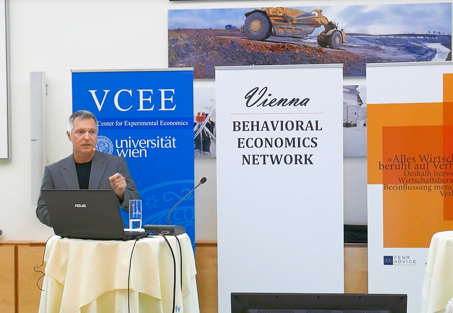 Vienna Behavioral Economics Network mit John A. List, 07.09.16. Foto: ©Thomas Suchanek