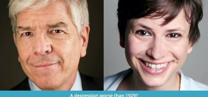 Trailer: A Depression worse than 1929? Interview with Nobelist Paul Romer on July 15th, live on Zoom